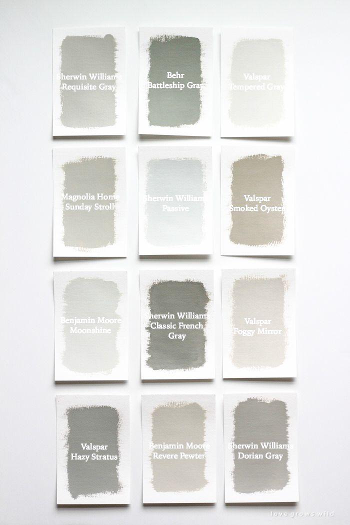 1058 best colors gray images on pinterest paint for Soft warm grey paint colours