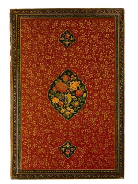 Iranian Decorative Bookbinding. Gorgeous!