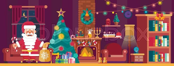 Christmas banner, vector graphic