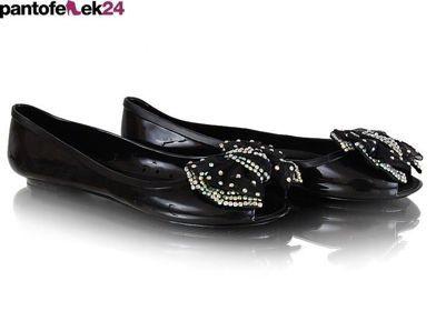 Czarne baleriny / Black ballerines / 12 PLN #ballerines #summer #spring #fashion #wiosna #black