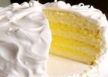 Create a layer cake with a tropical pineapple filling