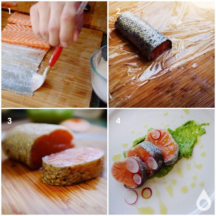 how to make sous vide salmon roulade nomiku nomiku. Black Bedroom Furniture Sets. Home Design Ideas