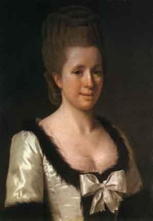 Madame Necker - Pastel by J.-E. Liotard