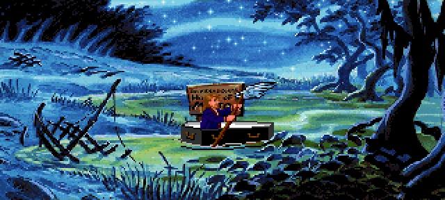 Monkey Island 2 : LeChuck's Revenge - Swamp