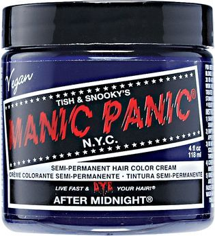 Manic Panic Semi-Permanent Hair Color Cream Midnight Blue