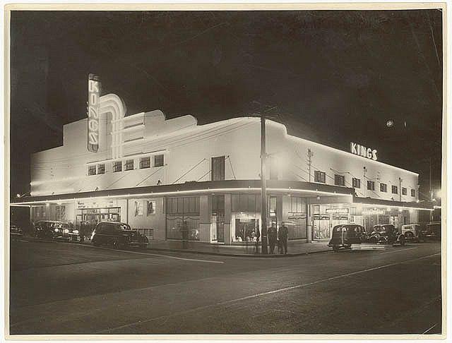 Kings, Bondi Beach, c. 1930s, by Sam Hood