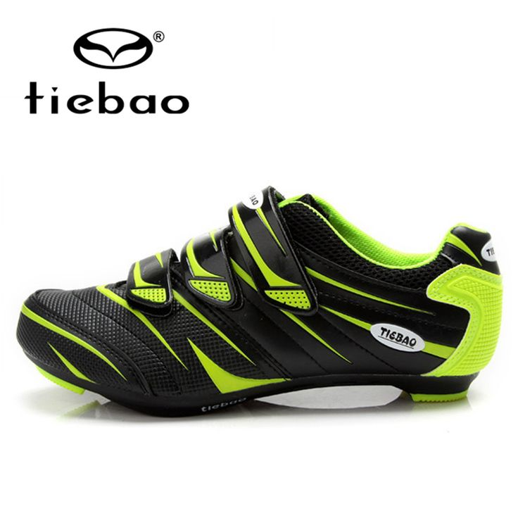 TIEBAO Professional Men Women Road Bike Self-Locking Shoes Bicycle Cycling Shoes Breathable Nylon-fibreglass Sole Sport Shoes