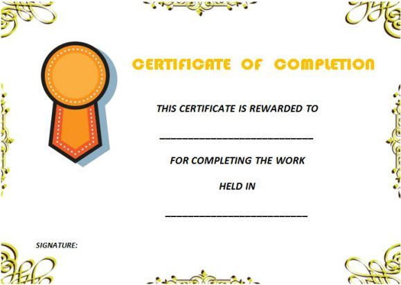Best 25 certificate of completion template ideas on for Cpe certificate template
