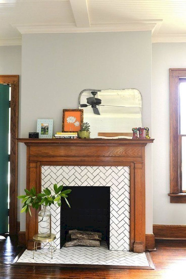 Nice 60 Awesome Fireplace Ideas Makeover https://roomadness.com/2017/09/14/60-beautiful-eclectic-fireplace-decor/