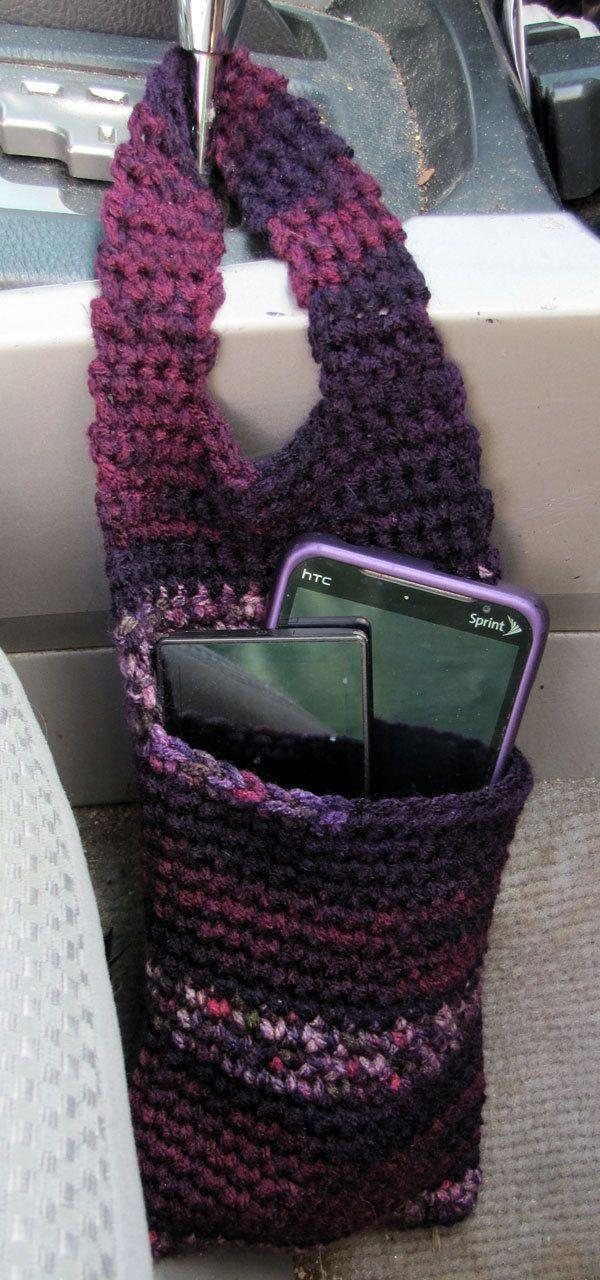 Car Organizer/Door Knob Organizer Cozy by rewards4u on Etsy.. I COULD SO MAKE THIS!
