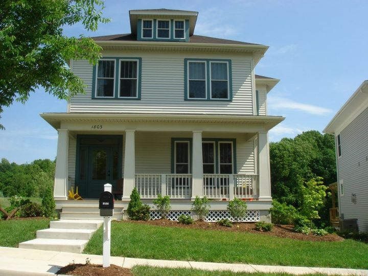 Glamorous American Foursquare Front Doors Pictures - Image design ...