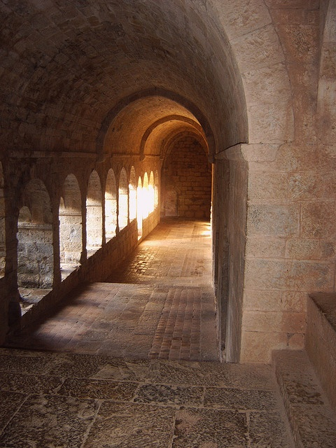 le Thoronet Abbey by Anita & Mark, busy, via Flickr