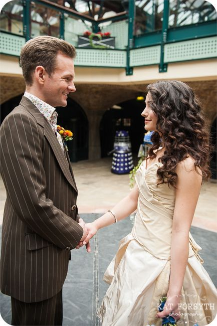 Doctor Who Geek Wedding Is Perfection I Need It As My