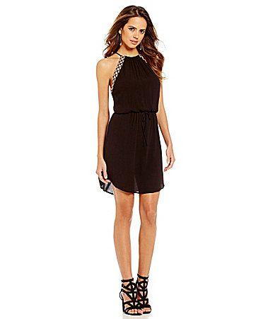Gianni Bini Abigail HighNeck Dress #Dillards