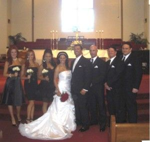 On January 10, 2010, Frank Gerdelman (Frankie Kazarian) married Traci Brookshaw (Traci Brooks) in a wrestling star studded event in Florida. AJ Styles, Samoa Joe,  Christopher Daniels were his groomsmen, while So Cal Val, Christy Hemme,  Gail Kim were her bridesmaids.