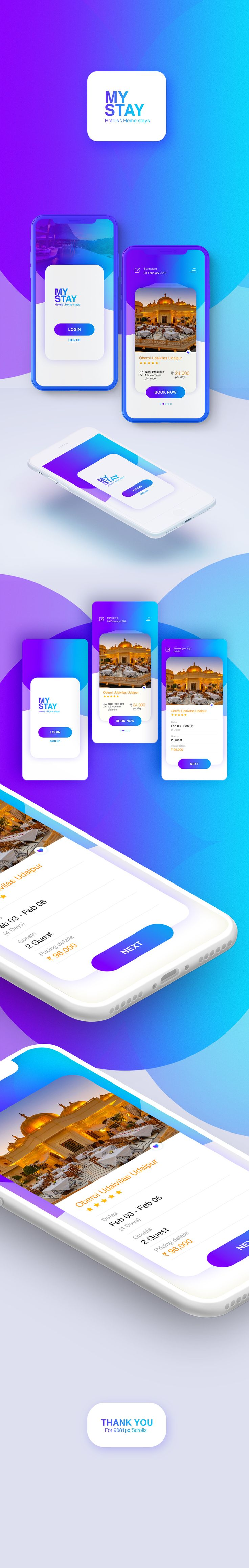 UI Design for Hotel booking