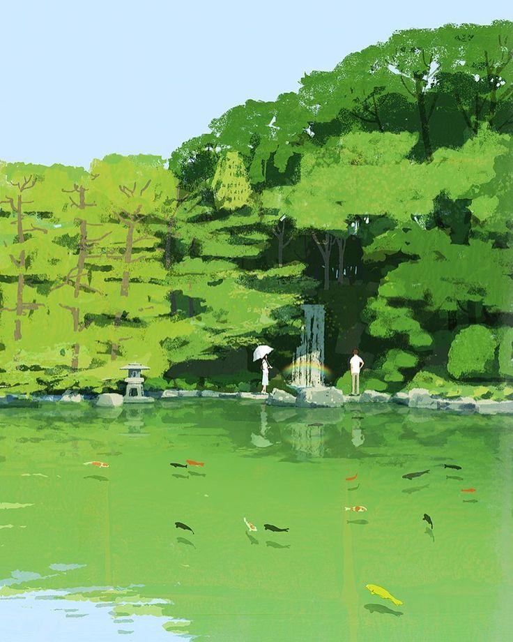 #illustration #painting #tatsurokiuchi #art #drawing #life #lifestyle #happy #japan #people #木内達朗 #イラスト #イラストレーション