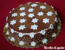 Torta pan di stelle #chocolate #tortapandistelle #pandistelle #cioccolato #stars #ricette #dolci