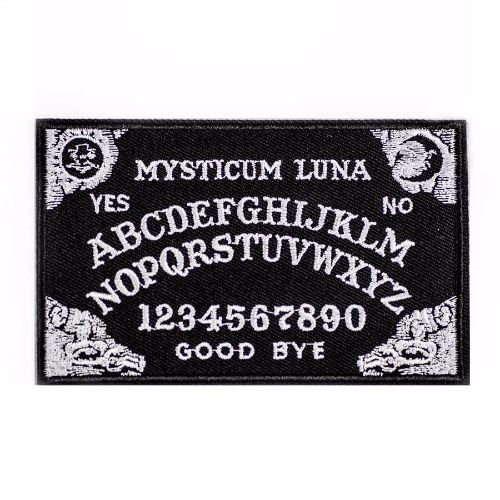 A wonderful addition to our Ouija collection, this patch measures approx 10cm by 6cm and is from the lovely Mysticum Luna in the UK.