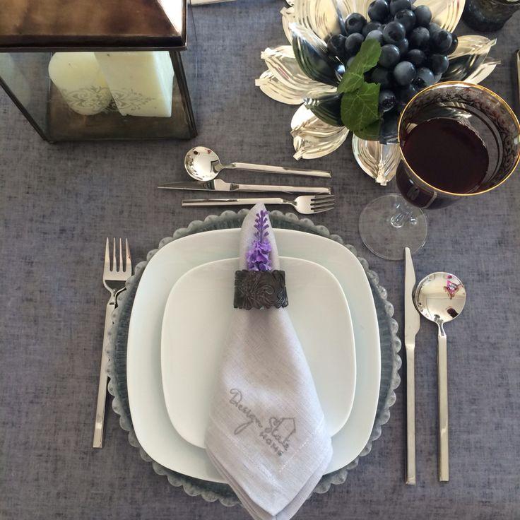 Koyu Gri Seramik El yapımı Peçete Halkası http://www.designstatehome.com/hppg~u~antrasit-desenli-seramik-pecete-halkasi