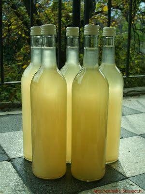 Fűszeres birsalmabor elvadult birsalmából - házi bor
