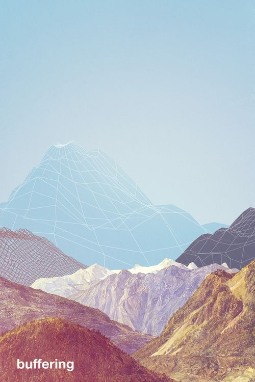 #graphic #design #photography mountains #geometry