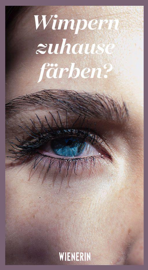 Wir haben es getestet: Taugt das €10-Produkt aus der Drogerie, was es verspricht? Die Beauty-Redaktion hat es ausprobiert. #beautylash #wimpernfärben