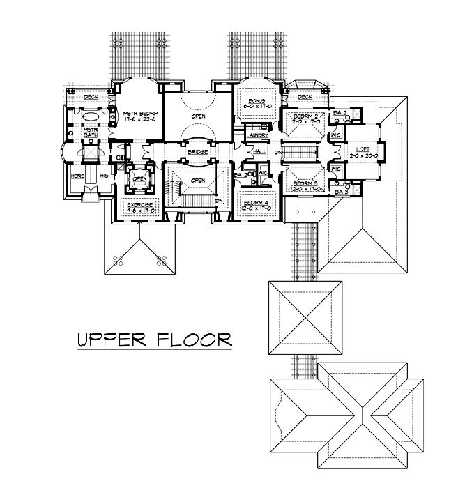 Colonial House Plan 87644 House Plans 2nd Floor And