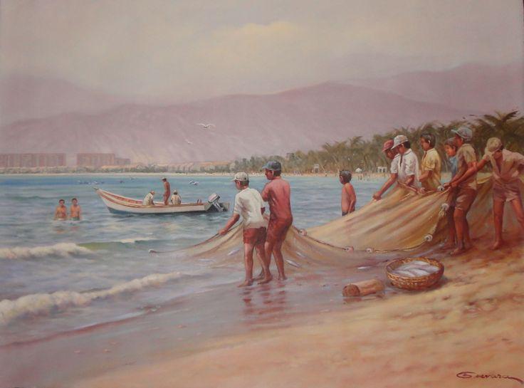 Jorge Guevara, Estado Anzoátegui, Galería de Arte Bahía Redonda.