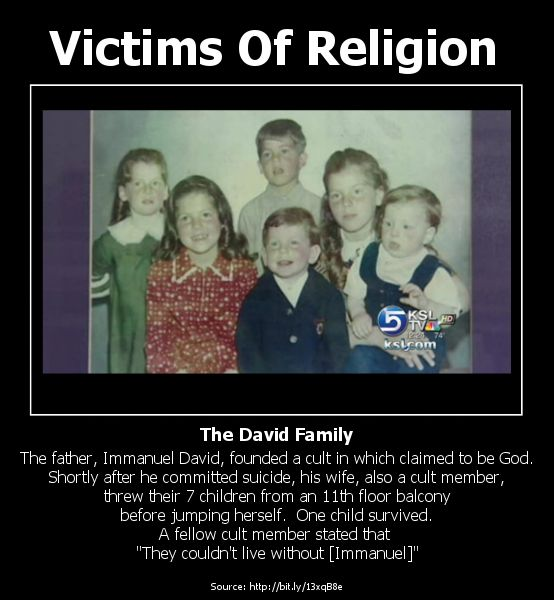 Victims of Religion | Antheosis - Meanderings of an ex-Jehovah's Witness