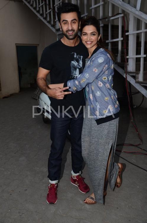 Tamasha Promotions - Deepika Padukone with Ranbir Kapoor
