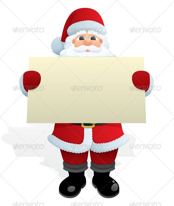 Santa Message — Photoshop PSD #blank #sign • Available here → https://graphicriver.net/item/santa-message/121908?ref=pxcr