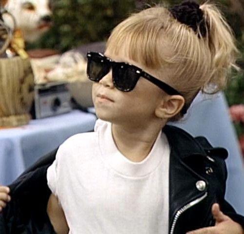 Michelle Tanner. Icon. #MichelleTanner #MaryKate #Ashley #Olsen #OlsenTwins #FullHouse #Blondes #YouGotItDude