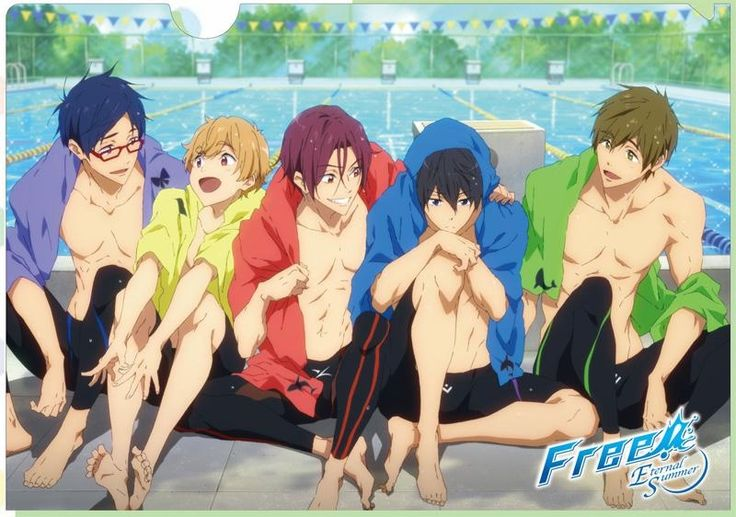 Free! ES Once again I will comment on the Reigisa because... Rei pls. your adoring stare makes my feels explode.