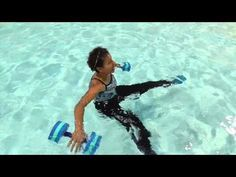 Aqua Instructor tip #62 Noodle in front suspended seated combo - YouTube