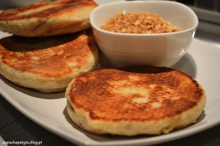 Hotteok - sweet korean pancakes #zapachapetytu #korean #pancakes