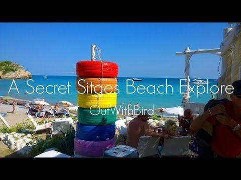 A Secret Sitges Beach Explore - YouTube