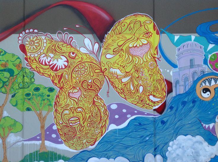 Murales - dettaglio. Autore: Anna Agati