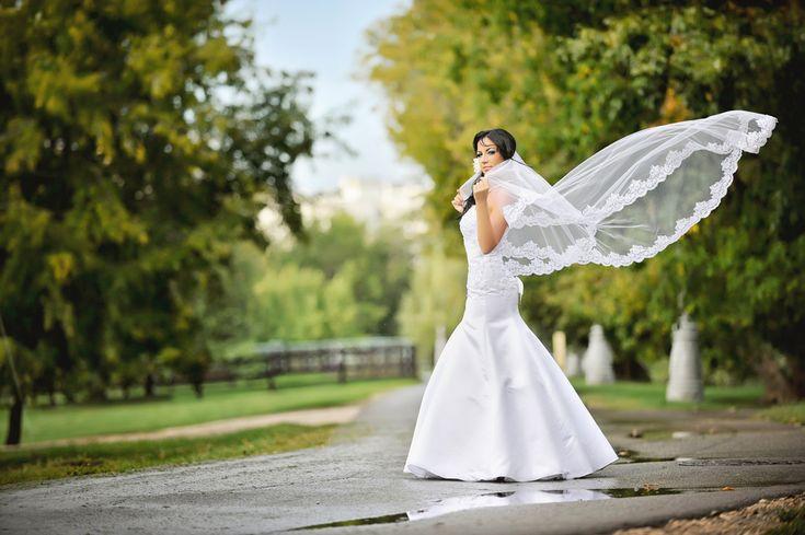 ロングベールで他の花嫁と差をつける!ウェディングベール選びのコツ