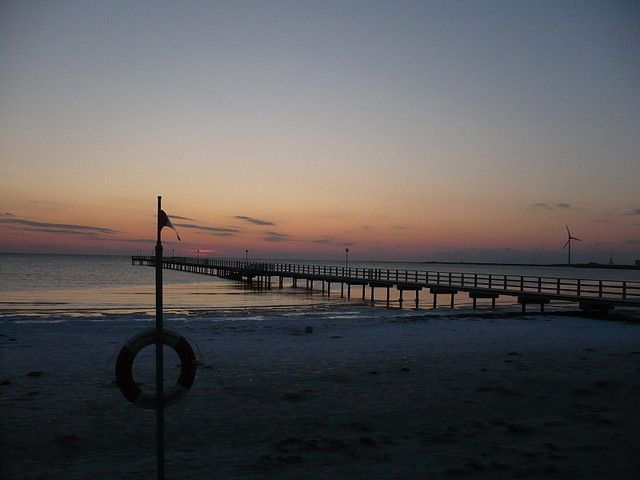 sunset in falkenberg, 3.34 pm. sweden.