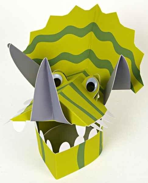 ROARRRR! Dinosaur Party Hats - so fun!