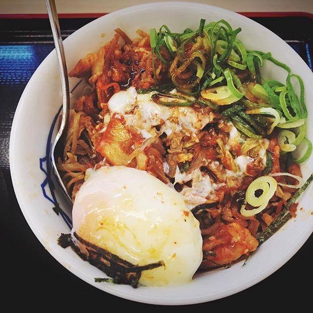 おはようございます💕✽.。.:*・゚ ✽.。.:*・゚ ✽.。.:*・゚ ✽.。.:*・゚ ✽.。.:*・゚ ✽.。.:*・゚ ✽.。.:*・゚ ✽.。.:*・゚ ✽.。.:*・゚ ✽.。.:*・゚  #キャベツ #キムチ #たまご  #松屋 #ねぎ #日本 #おいしい  #昼ごはん #晩ご飯 #にく #みそしる  #卵 #キムチ牛丼 #牛丼 #ランチ  #牛 #辛い #牛肉 #丼 #肉 #japan #food #yummy #dinner #lunch  #温泉たまご #日本料理  #夕食 #みそ汁  #味噌汁