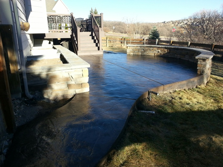 21 best images about casco stamped concrete on pinterest for Concrete craft colorado springs