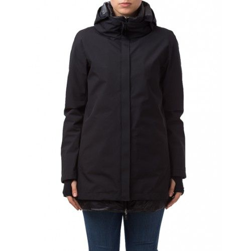 Herno Laminar Ladies Raincoat Navy