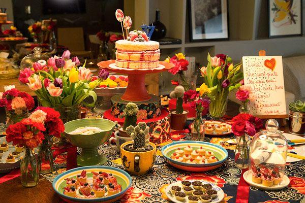 Que Prendada!: Festa de aniversário inspirada em Frida Kahlo