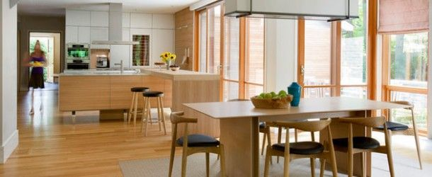 15 Examples of Function and Minimalism in Scandinavian Kitchens via @homedesignlover