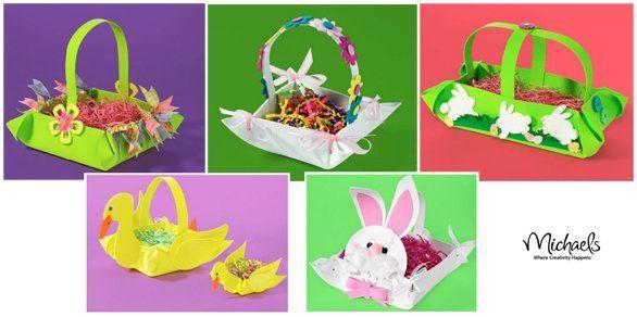 Fai da te: i cestini di Pasqua