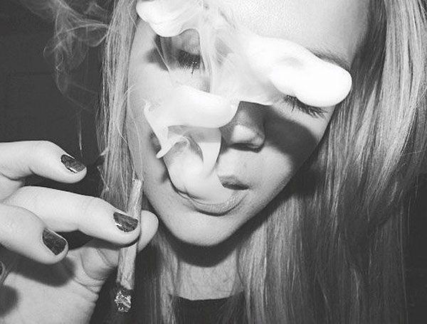 cute girls smoking weed