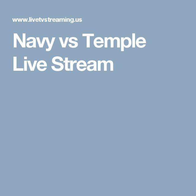 Navy vs Temple Live Stream