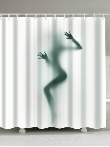 GET $50 NOW | Join RoseGal: Get YOUR $50 NOW!http://www.rosegal.com/shower-curtains/bath-decor-art-female-shadow-1108989.html?seid=9209756rg1108989